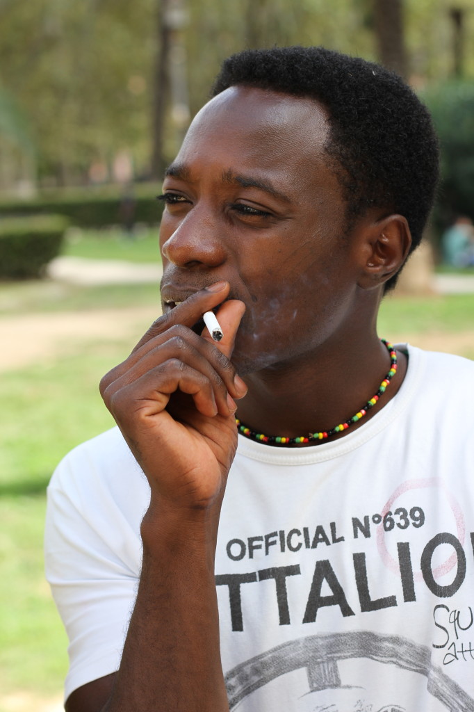 Stress levels have caused individuals like Youssi to turn to smoking as a coping mechanism.